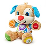 Fisher-Price FPM50 - Lernspaß Hündchen Baby Spielzeug und Plüschtier, Lernspielzeug mit Liedern...