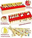Toys of Wood Oxford Montessori Lernspielzeug - Sortieren, Vergleichen und Lernen - 8...