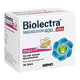 Biolectra Magnesium 400 mg ultra Direct Granulat Orangengeschmack, 40 St. Beutel