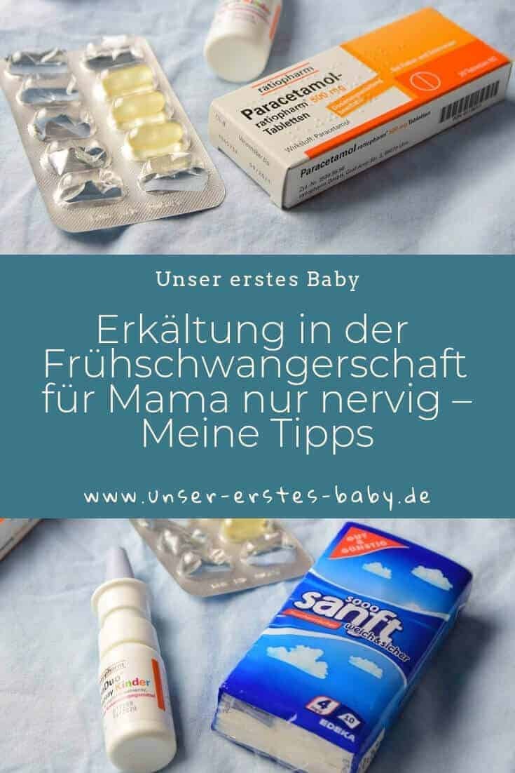 Meine Tipps bei Erkältung in der Frühschwangerschaft #Schwangerschaft #krank #Erkältung