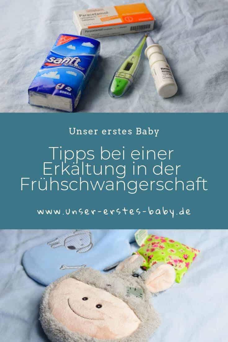 Tipps bei einer Erkältung in der Frühschwangerschaft