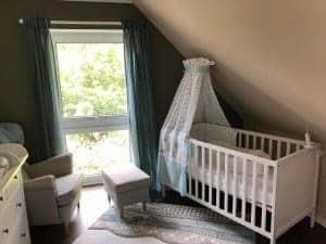 Babybett mit Babymatratze und COCOONaBABY
