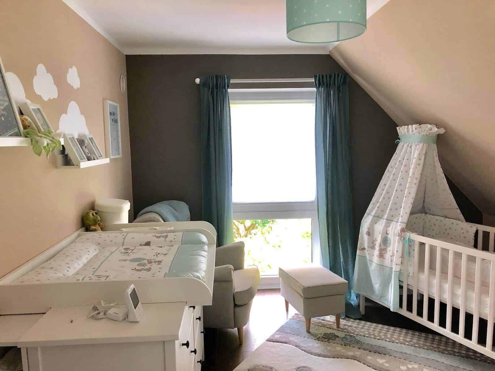 Babyzimmer - Das Reich von unserem kleinen Wurm ist endlich fertiggestellt