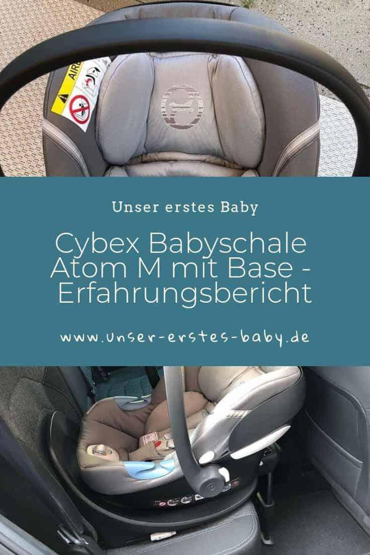 Cybex Babyschale Atom M mit Base - Unser Erfahrungsbericht zum Testsieger von Stiftung Warentest