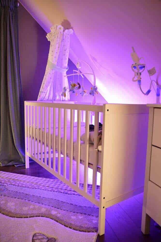 Farbiges Licht für die Nacht im Kinderzimmer