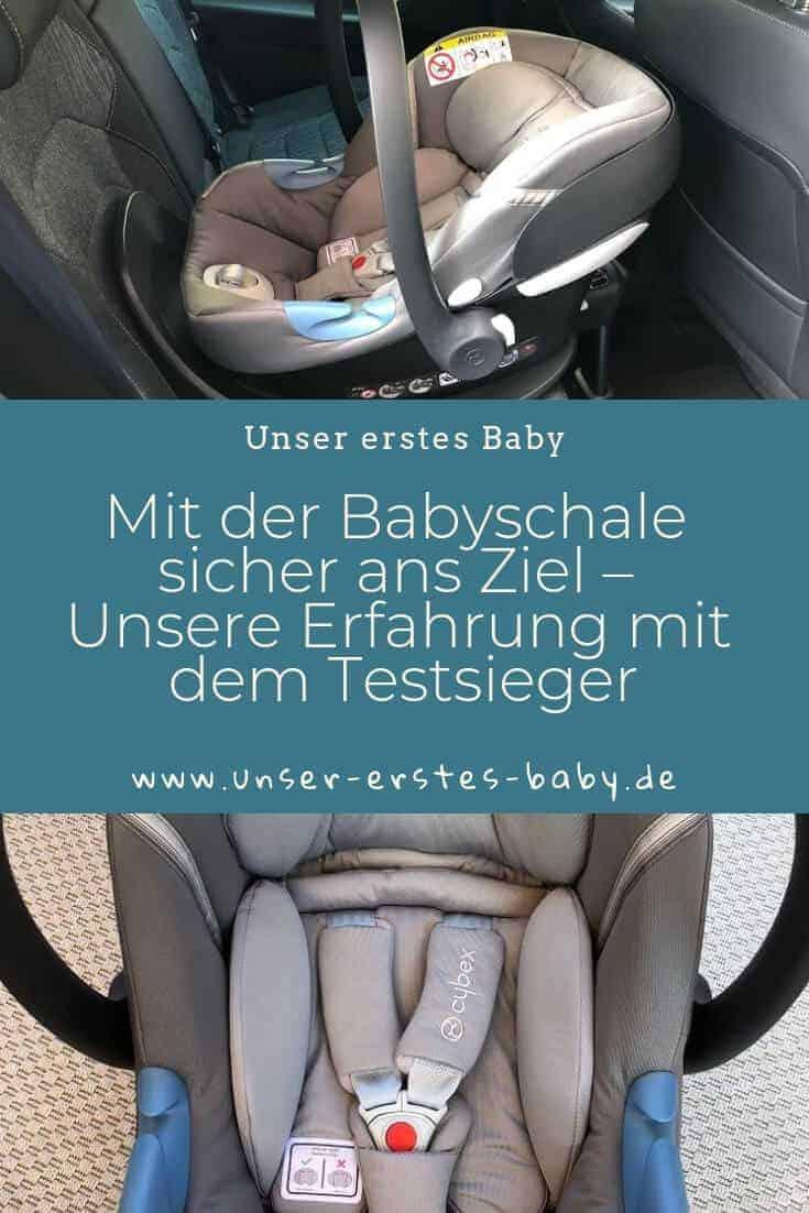 Mit der Babyschale sicher ans Ziel – Unsere Erfahrung mit dem Testsieger