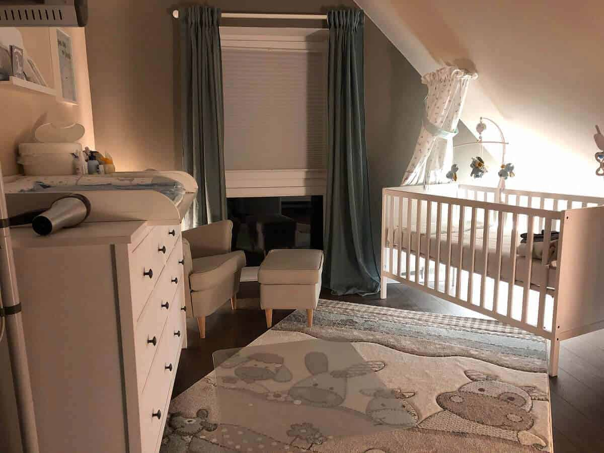 Nachtlicht im Babyzimmer mit Philips Hue