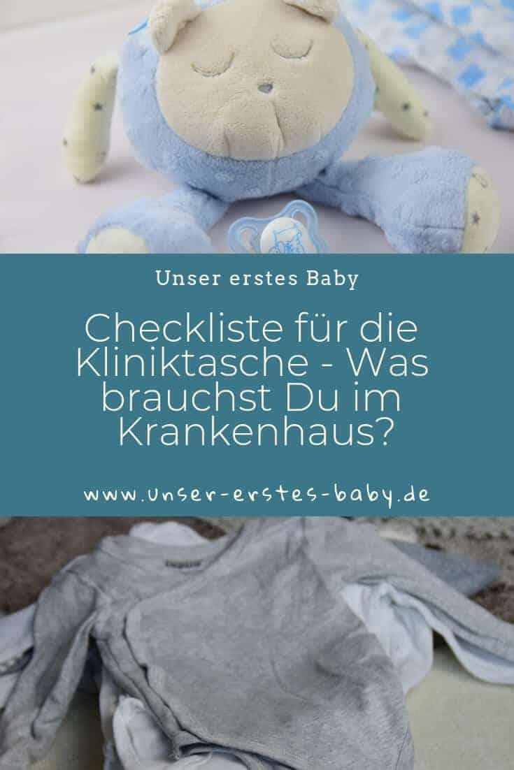 Checkliste für die Kliniktasche - Was brauchst Du im Krankenhaus zur Geburt