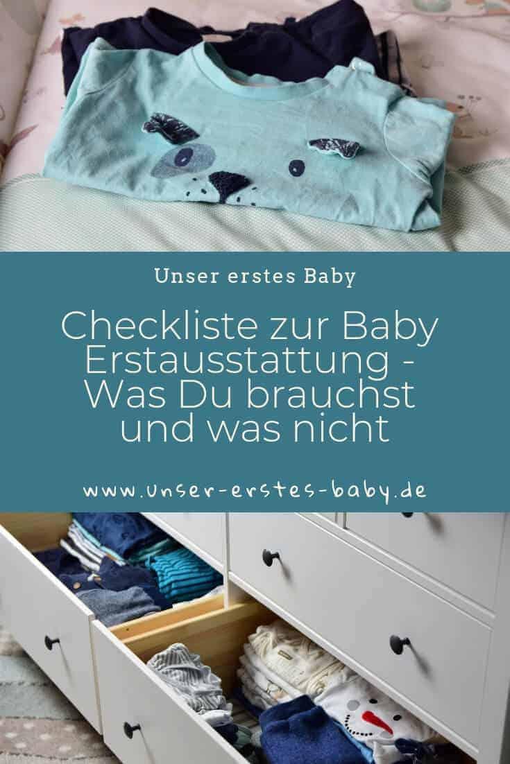 Checkliste zur Baby Erstausstattung - Was Du brauchst und was nicht
