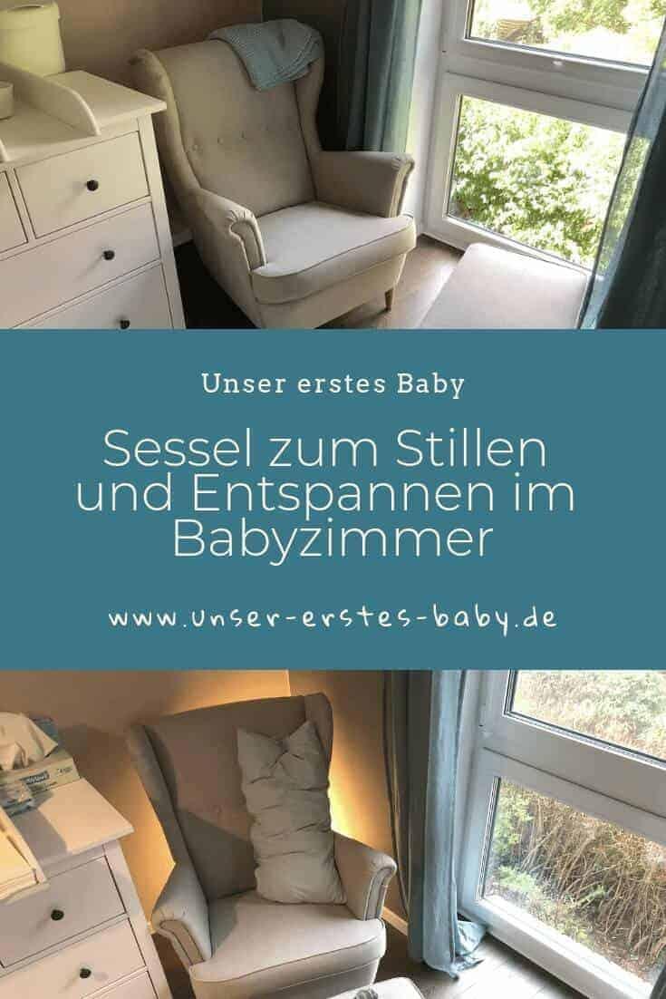 Für Mama - Sessel zum Stillen und Entspannen im Babyzimmer