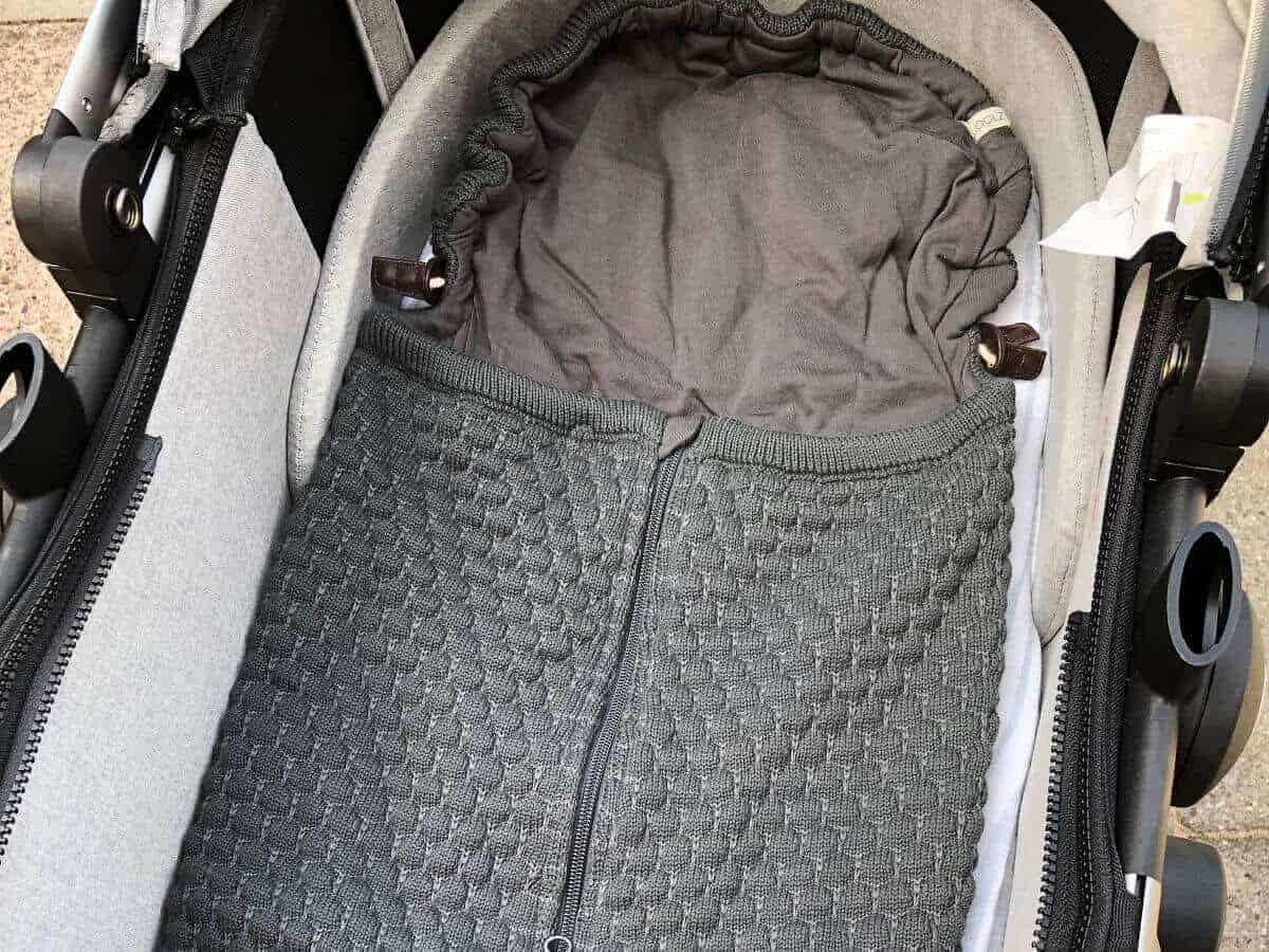 Fußsack für den Kinderwagen