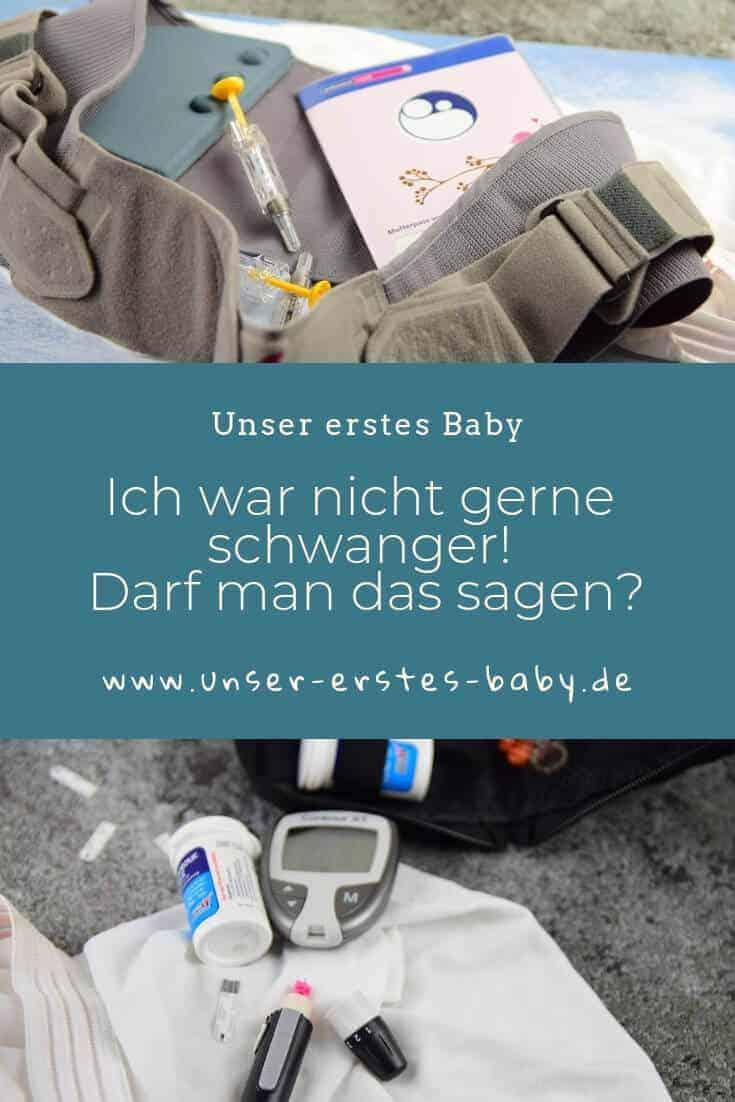 Ich war nicht gerne schwanger - Darf man das sagen? #Schwangerschaft #Schwangerschaftsprobleme