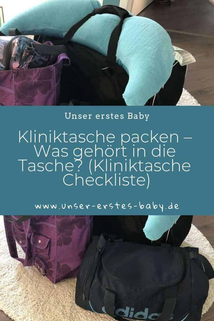 Kliniktasche packen – Was gehört in die Tasche (Kliniktasche Checkliste)