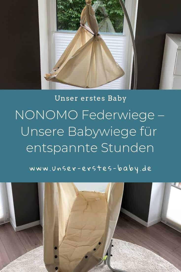 NONOMO Federwiege – Unsere Babywiege für entspannte Stunden