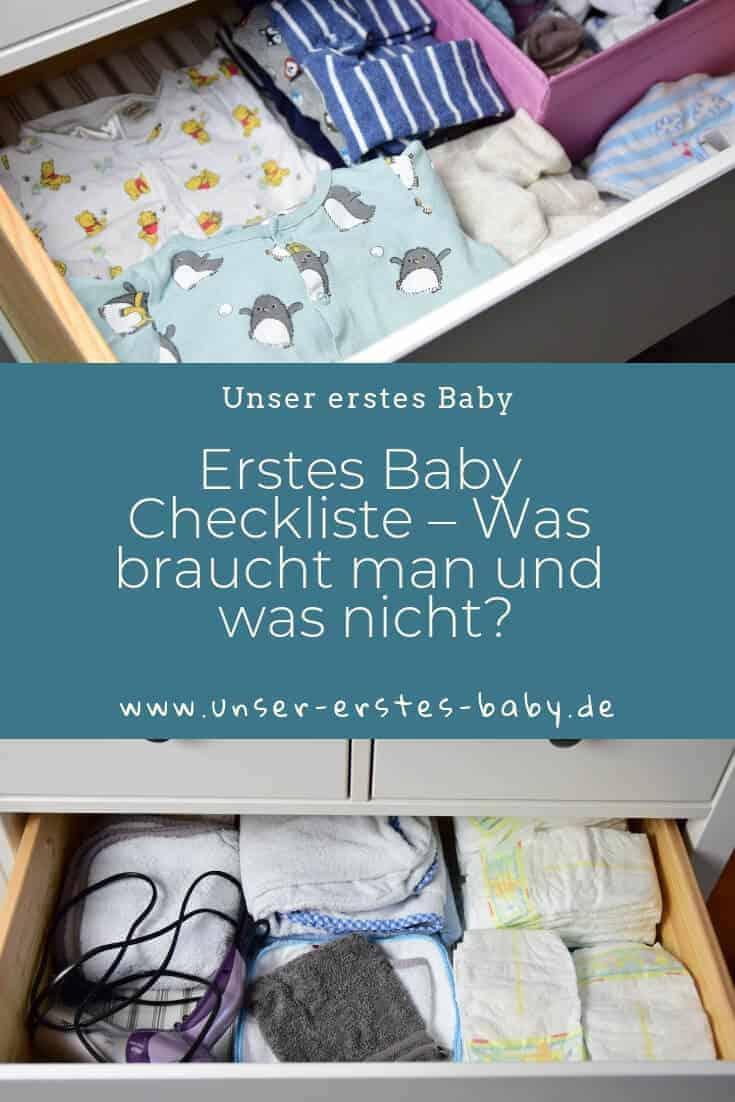 Neugeborenes Checkliste - Was braucht man für das erste Baby und was nicht