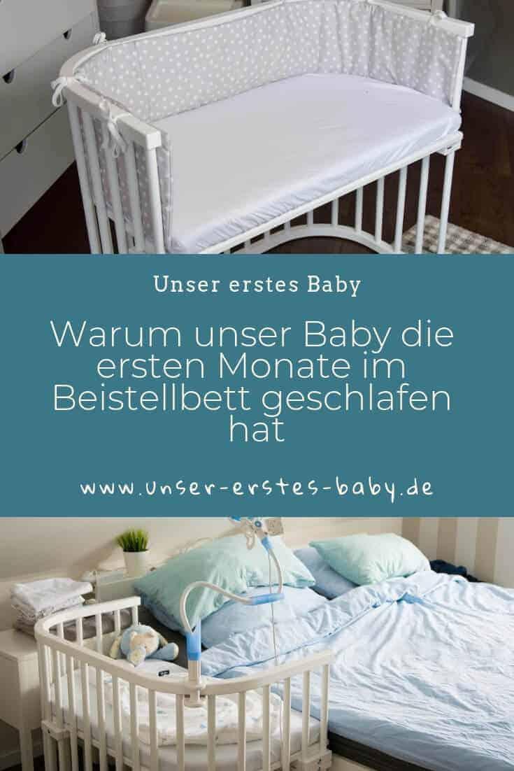Warum unser Baby die ersten Monate nur im Beistellbett geschlafen hat