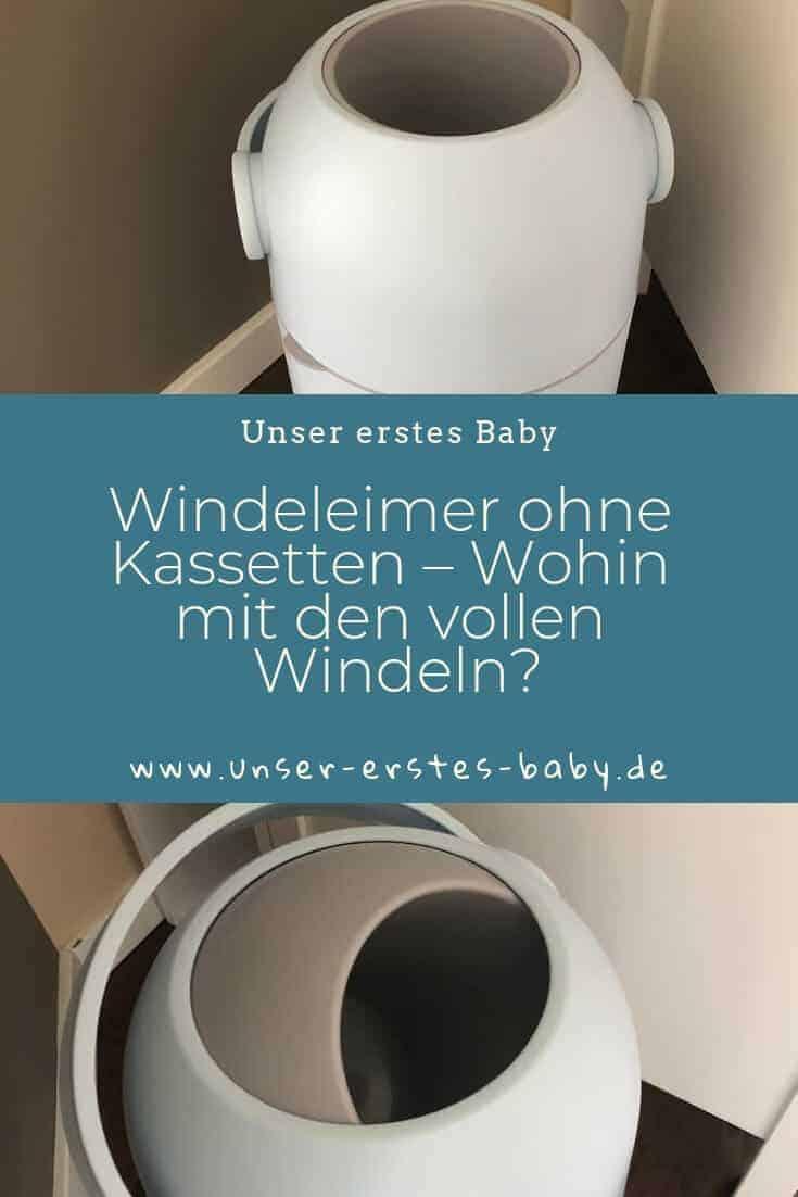 Windeleimer ohne Kassetten – Wohin mit den vollen Windeln