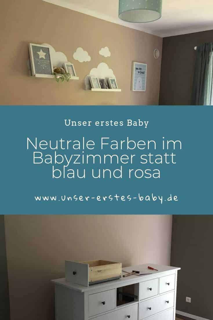 Neutrale Farben im Babyzimmer statt blau und rosa