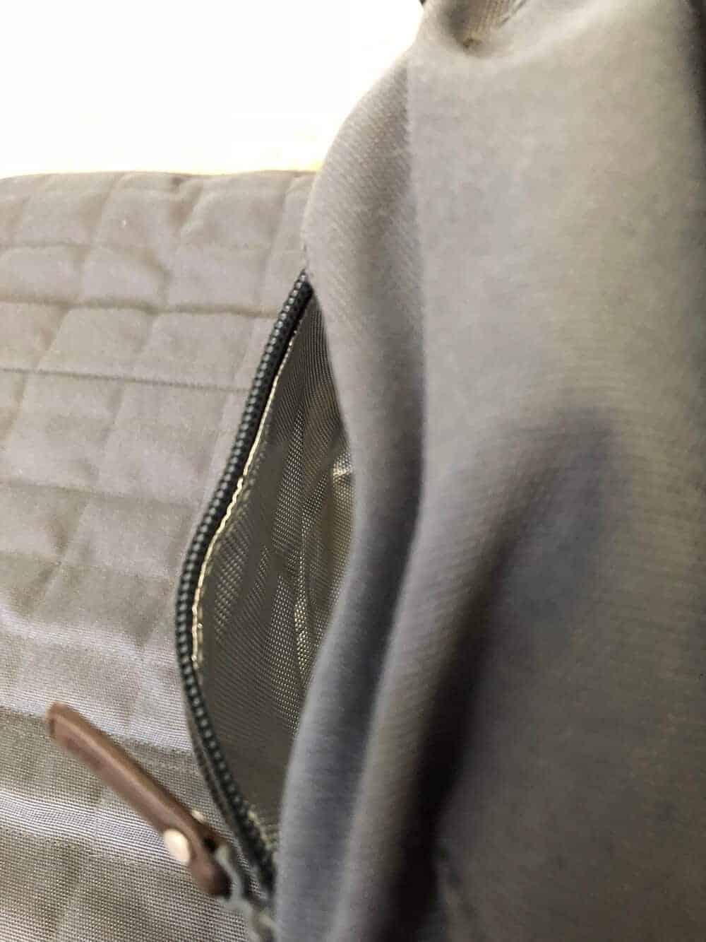 Wickeltasche mit Isolierfach