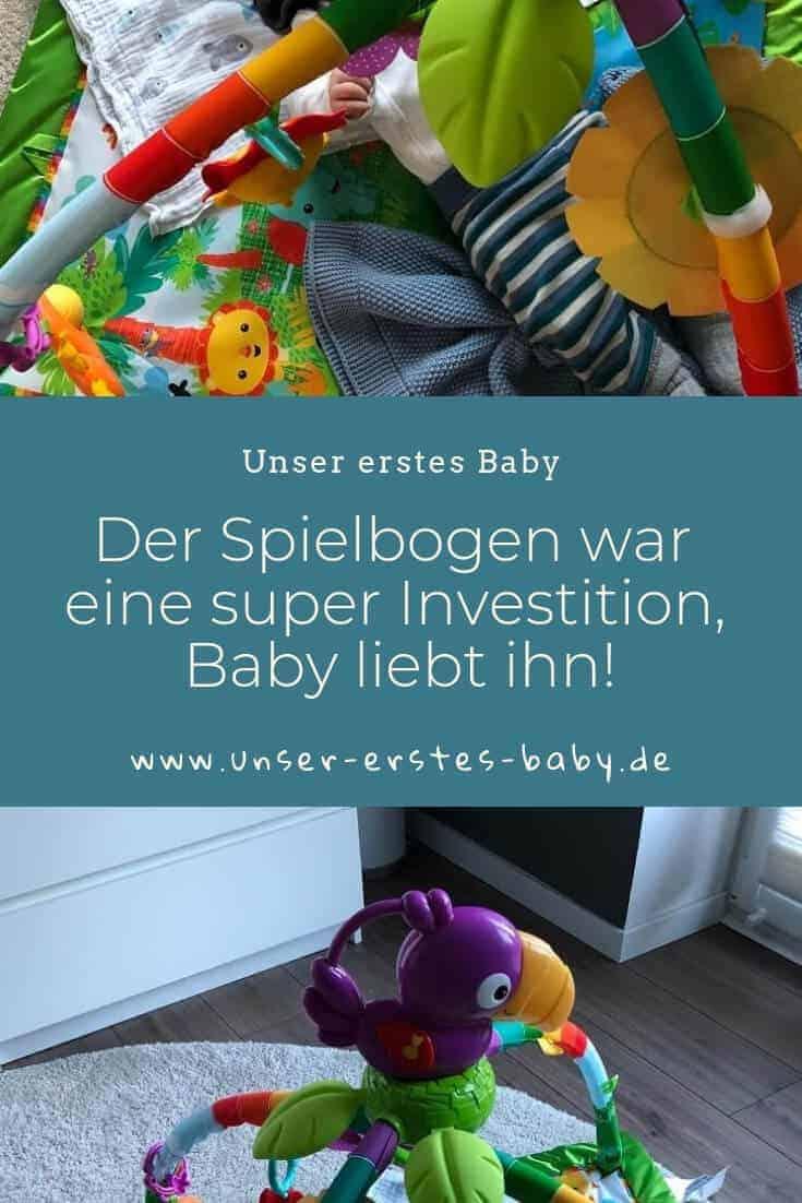 Der Spielebogen war eine super Investition, Baby liebt ihn