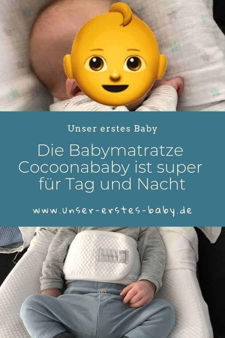 Die Babymatratze Cocoonababy ist super für Tag und Nacht