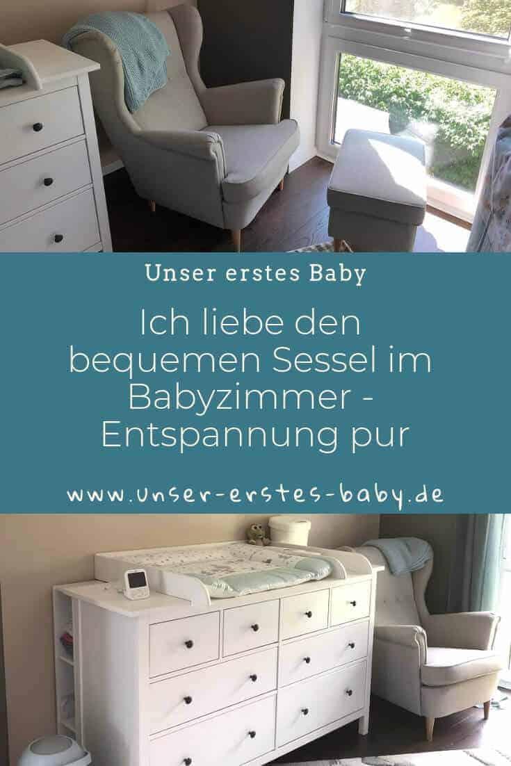 Ich liebe den Sessel zum Stillen im Babyzimmer - Entspannung pur