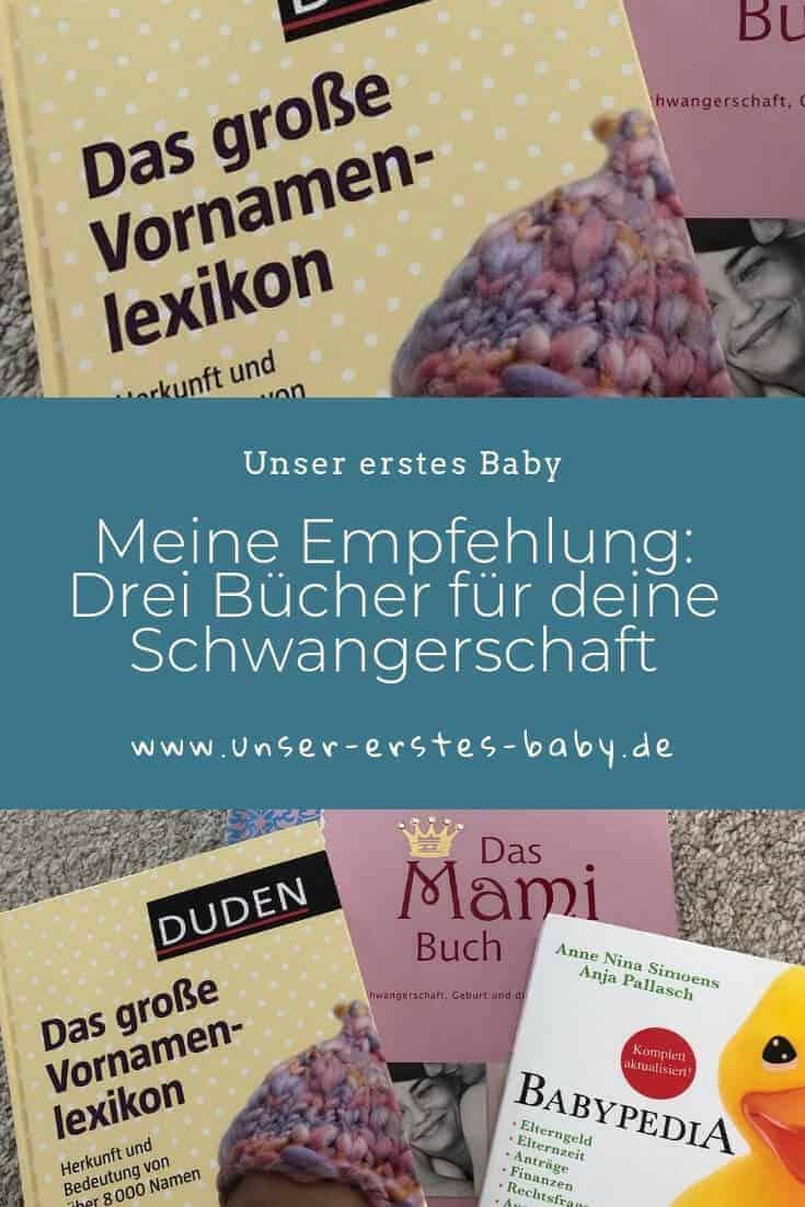 Meine Empfehlung - Drei Bücher für deine Schwangerschaft