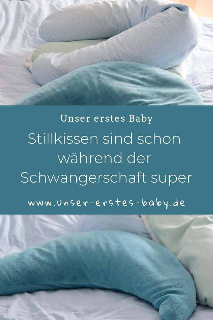 Stillkissen sind schon während der Schwangerschaft super in der Nacht zum schlafen