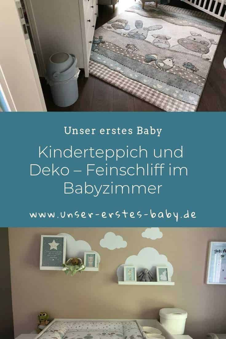 Kinderteppich, Bilder und Deko – Das Babyzimmer bekommt den Feinschliff