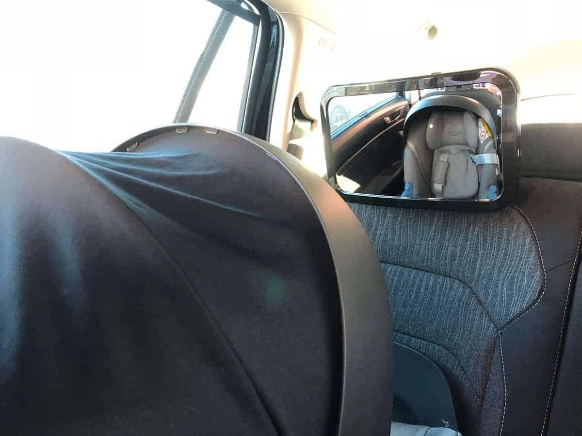 Autospiegel Baby - Spiegel für die Babyschale und den Autositz