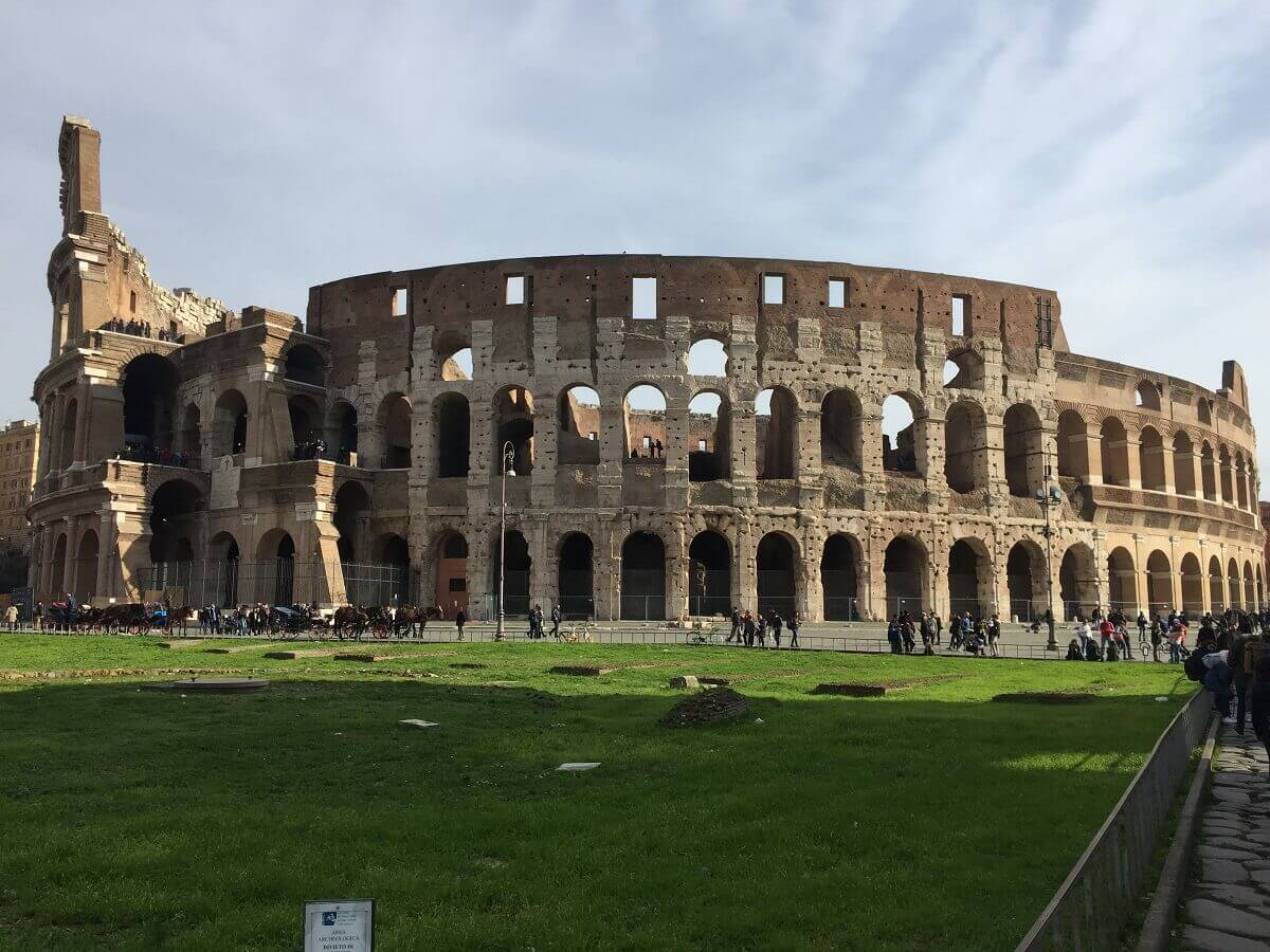 Das Kolosseum in Rom ist ein wirklich beeindruckendes Bauwerk