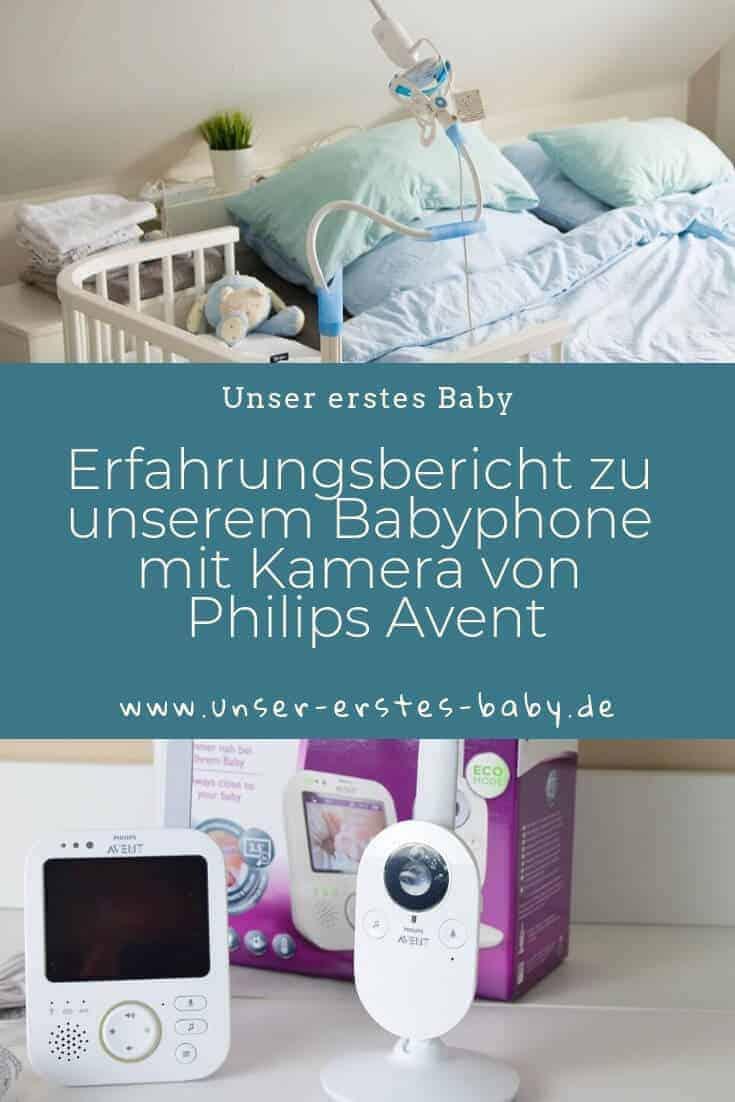 Erfahrungsbericht zu unserem Babyphone mit Kamera von Philips Avent