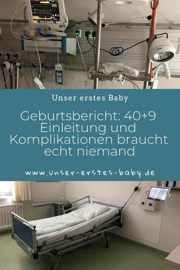 Geburtsbericht - 40+9 - Einleitung und Komplikationen braucht echt niemand