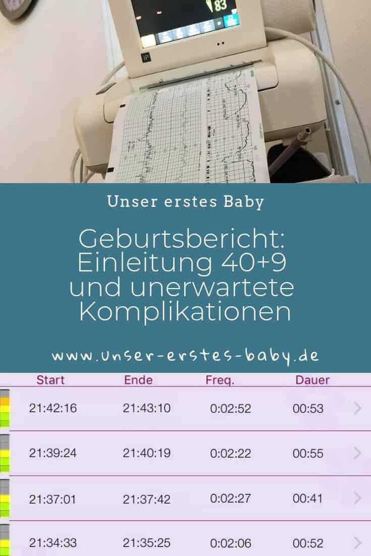 Geburtsbericht - Ich war ET+9 - Vom Versuch, die Wehen auszulösen und der (ungeliebten) Einleitung - Einleitung 40+9
