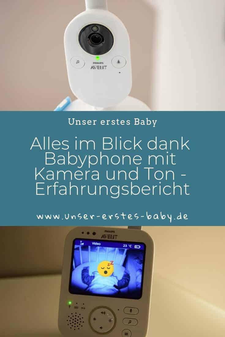 Mit unserem Babyphone haben wir alles im Blick - egal ob im Babybett oder im Beistellbett #PhilipsAvent #Erstlingsausstattung #BabyErstausstattung #Babyfon