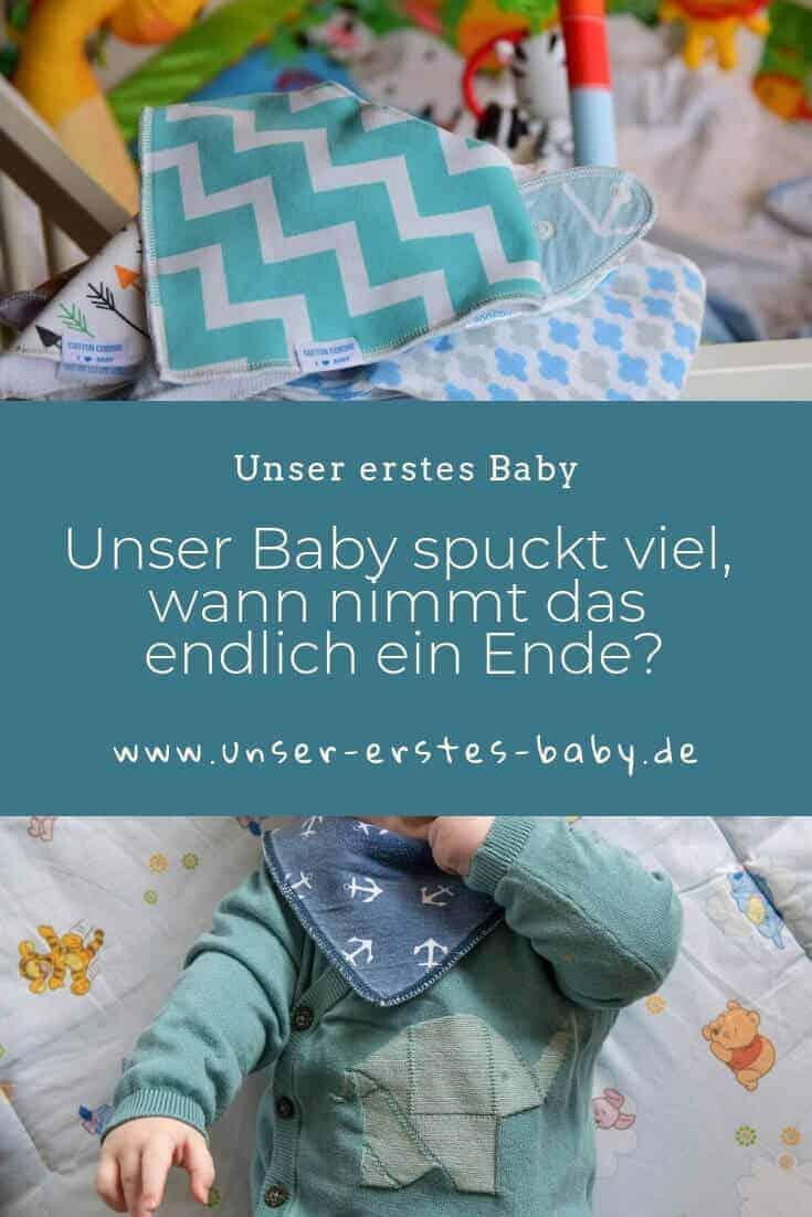Unser Baby spuckt viel, wann nimmt das endlich ein Ende?