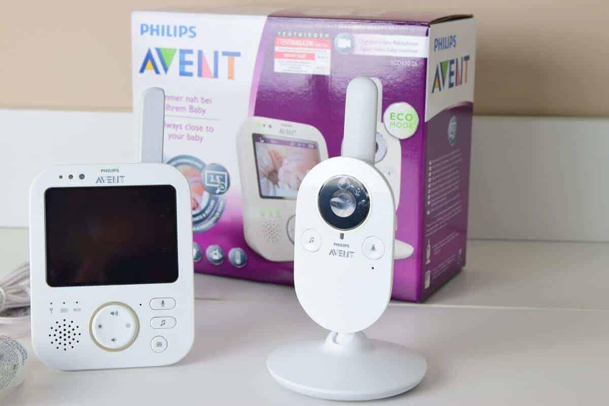 Unser Philips Avent Babyphone mit Kamera und Ton für den Blick ins Babyzimmer #Philips #Avent #Babyphone #Babyfon #Nachtsicht