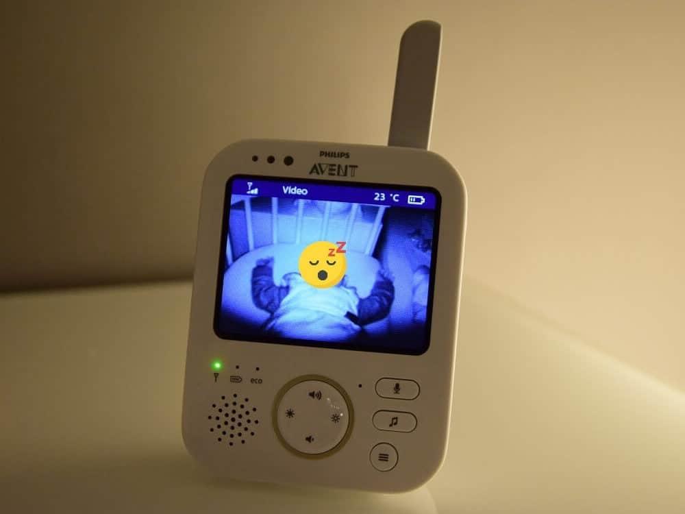 Wir haben dank unserem Babyfon alles im Blick #Babyphone #BabyErstausstattung #Erstlingsausstattung #Babyfon #PhilipsAvent