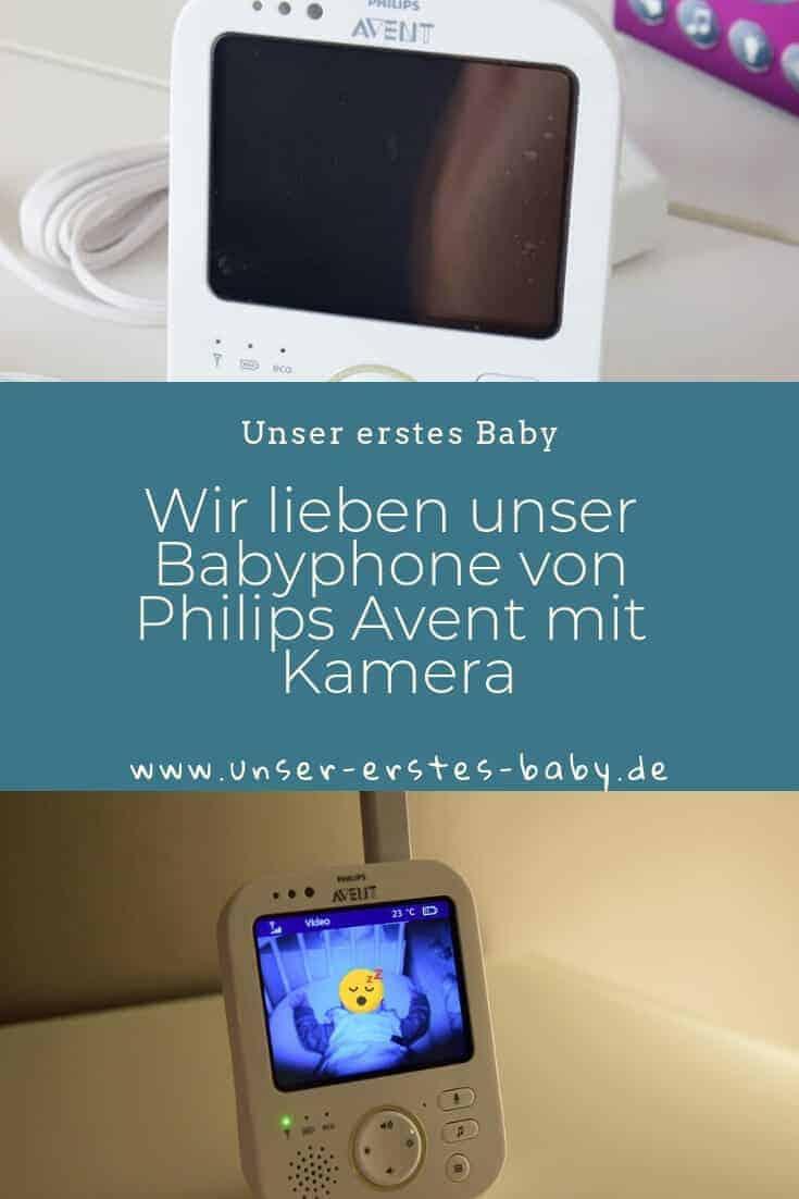 Wir lieben unser Babyphone von Philips Avent mit Kamera - Warum, verraten wir in unserem Erfahrungsbericht