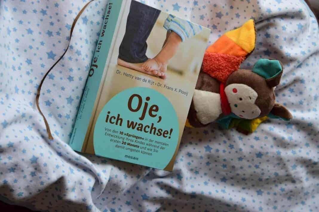 Buchempfehlung Oje ich wachse - Das perfekte Buch, um die Wachstumsschübe deines Babys zu verstehen