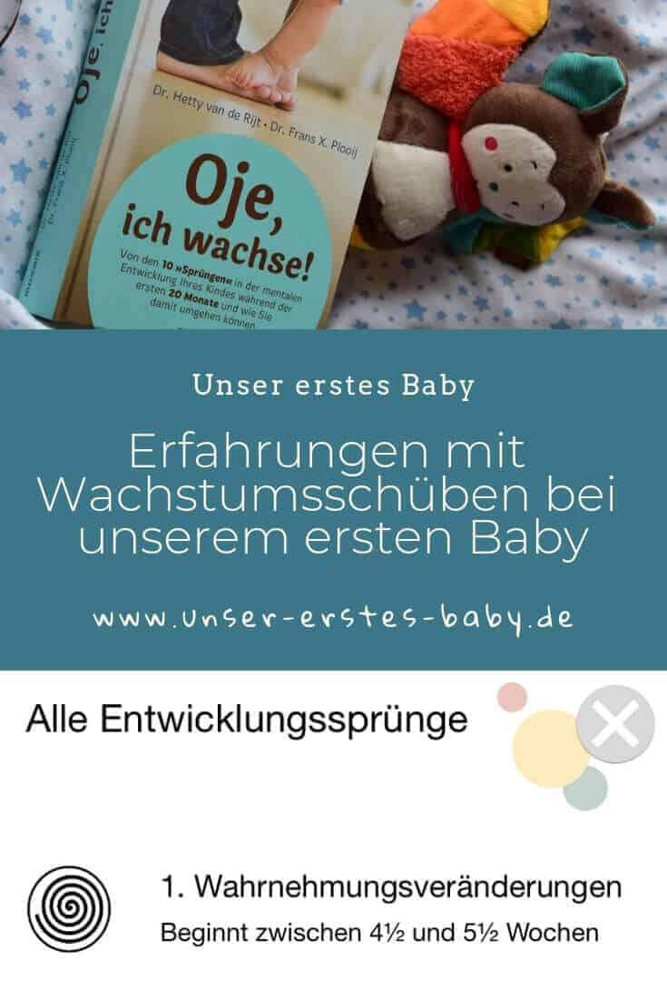 Erfahrungen mit Wachsstumsschüben bei unserem ersten Baby