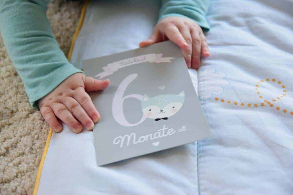 Wenn das Baby wächst, gerät die Welt für das kleine Wesen völlig aus den Fugen