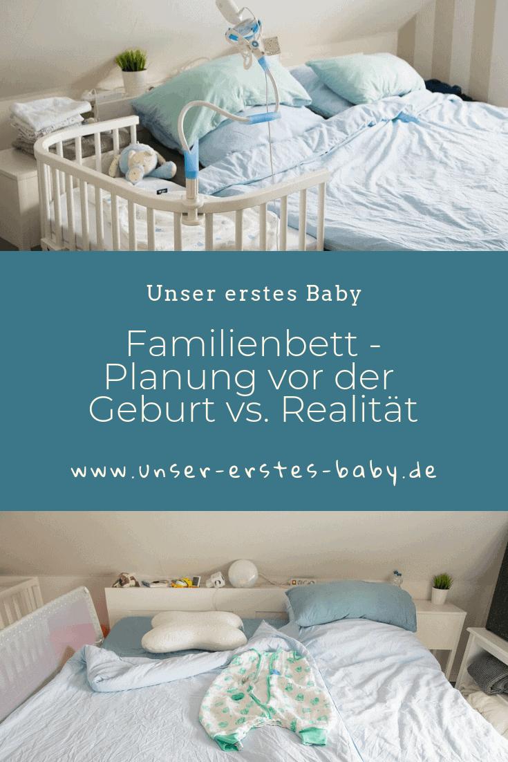 Familienbett - Planung vor der Geburt vs Realität