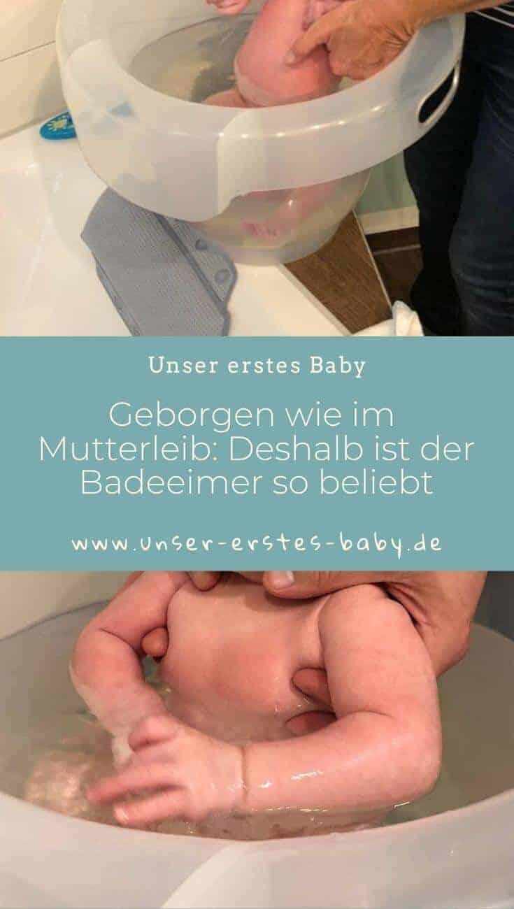 Geborgen wie im Mutterleib - Deshalb ist der Badeeimer so beliebt