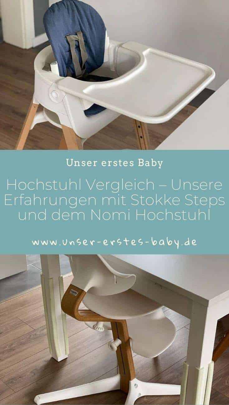 Hochstuhl Vergleich – Unsere Erfahrungen mit Stokke Steps und dem Nomi Hochstuhl