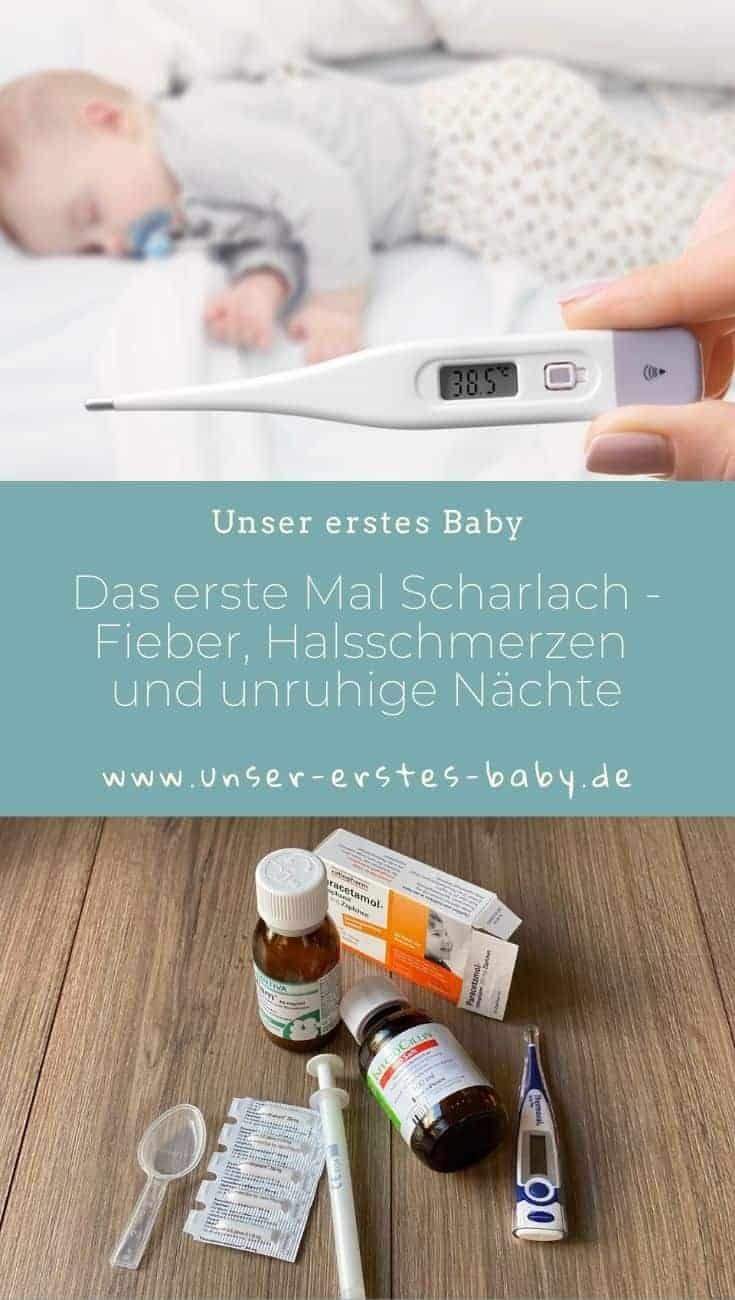 Das erste Mal Scharlach - Fieber, Halsschmerzen, Appetitlosigkeit und unruhige Nächte sind ein durchgehender Begleiter