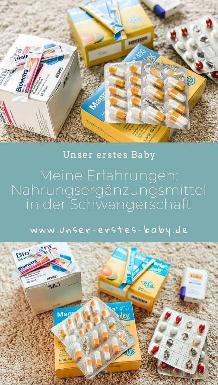 Meine Erfahrungen mit Magnesium und anderen Nahrungsergänzungsmitteln in der Schwangerschaft