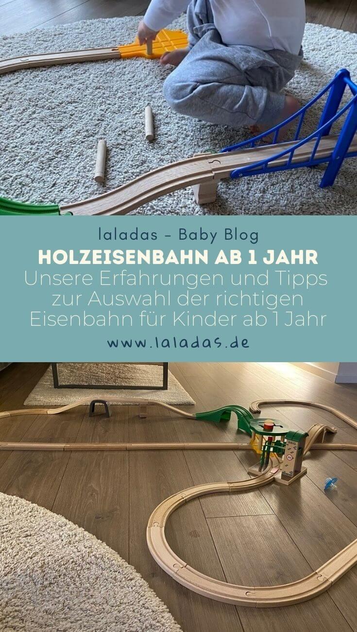Holzeisenbahn ab 1 Jahr - Unsere Erfahrungen und Tipps - zur Auswahl der richtigen Eisenbahn für Kinder ab 1 Jahr