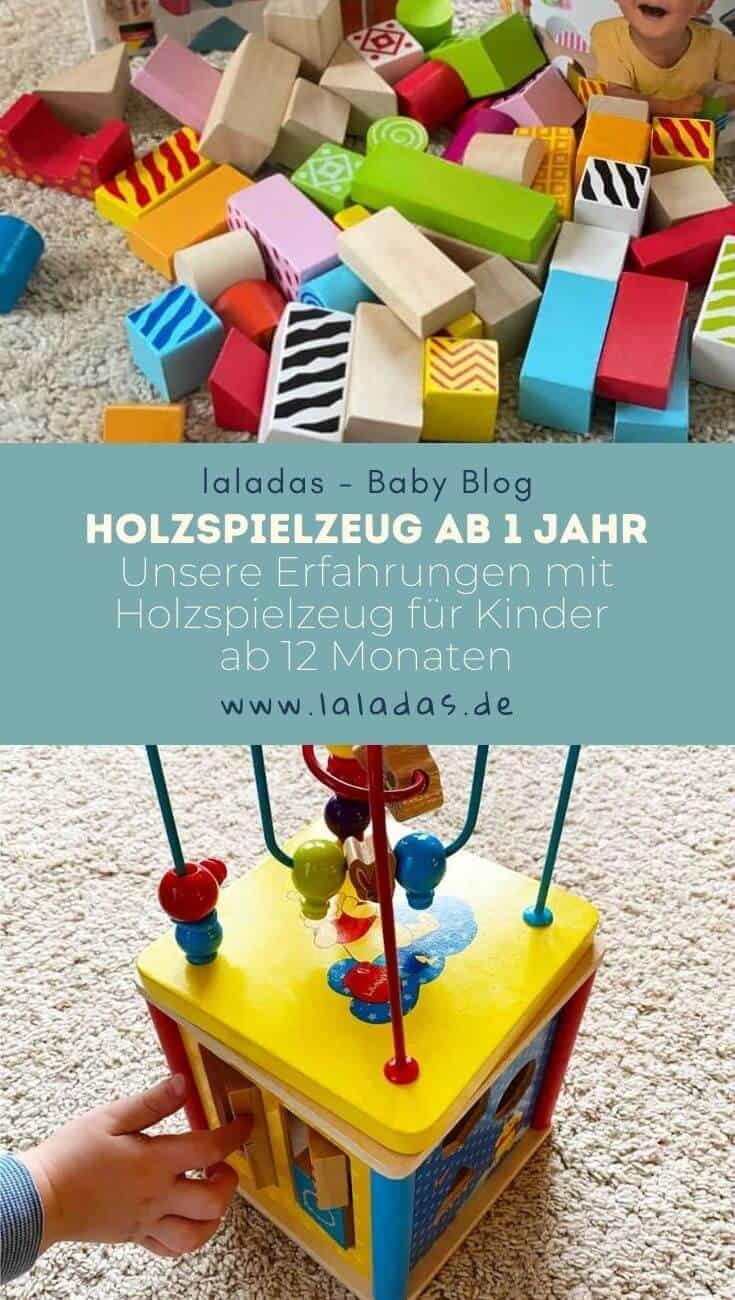 Holzspielzeug ab 1 Jahr - Unsere Erfahrungen mit Holzspielzeug für Kinder ab 12 Monaten