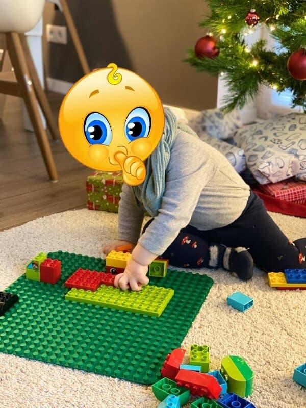 Lego Duplo 1 Jahr - Bei uns wird bisher am Liebsten auf der großen LEGO Matte gespielt
